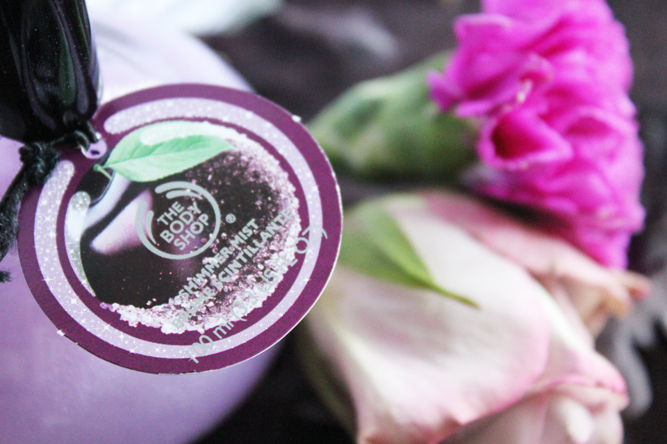 The Body Shop Frosted Plum Shimmer Mist 2