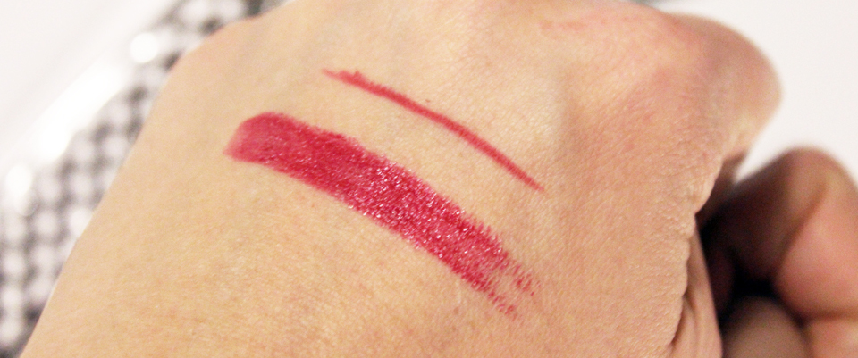 Kiko Temptress Lip Set Swatches