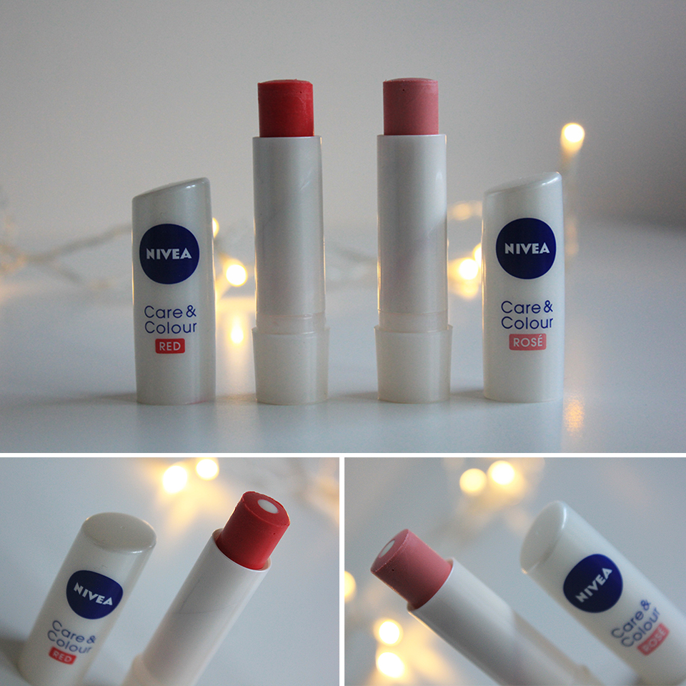 Nivea Care & Colour Red & Rosé