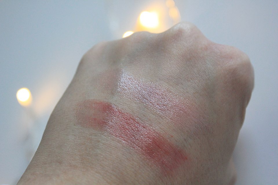 Nivea Care & Colour Swatches
