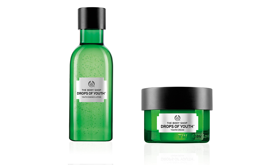 The Body Shop Drops of Youth Essence-Lotion & Cream