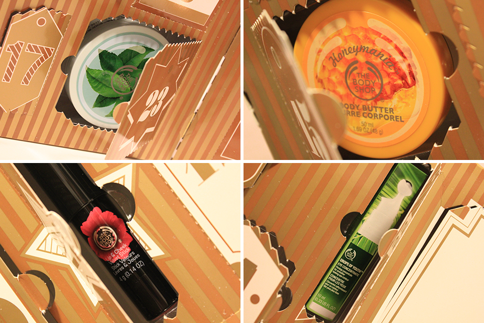 The Body Shop Ultimate Calendar Sneakpeaks