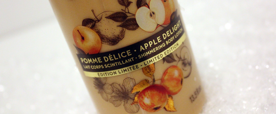 Yves Rocher Apple Delight Shimmering Body Lotion