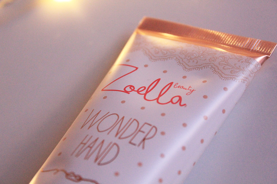 Zoella Wonder Hand Closeup