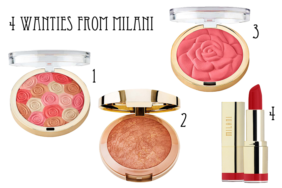 4 wanties from Milani