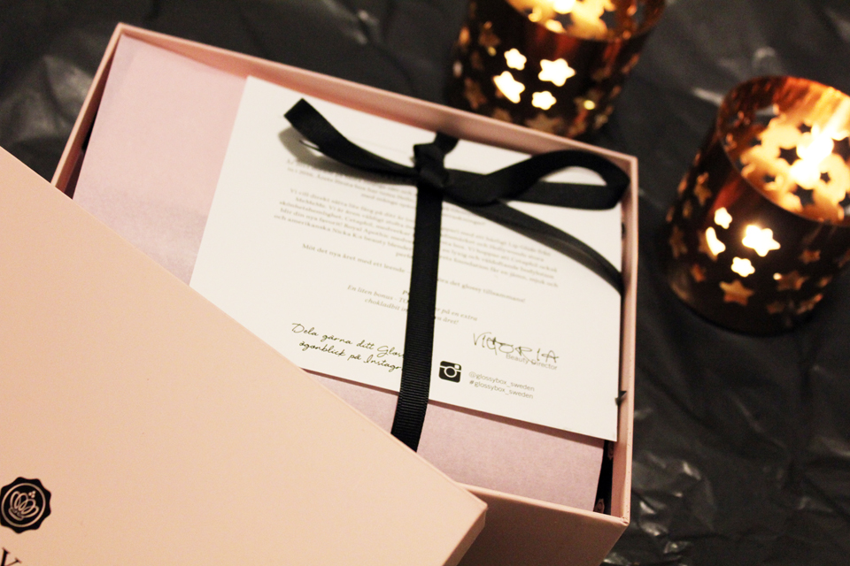Glossybox Sweden