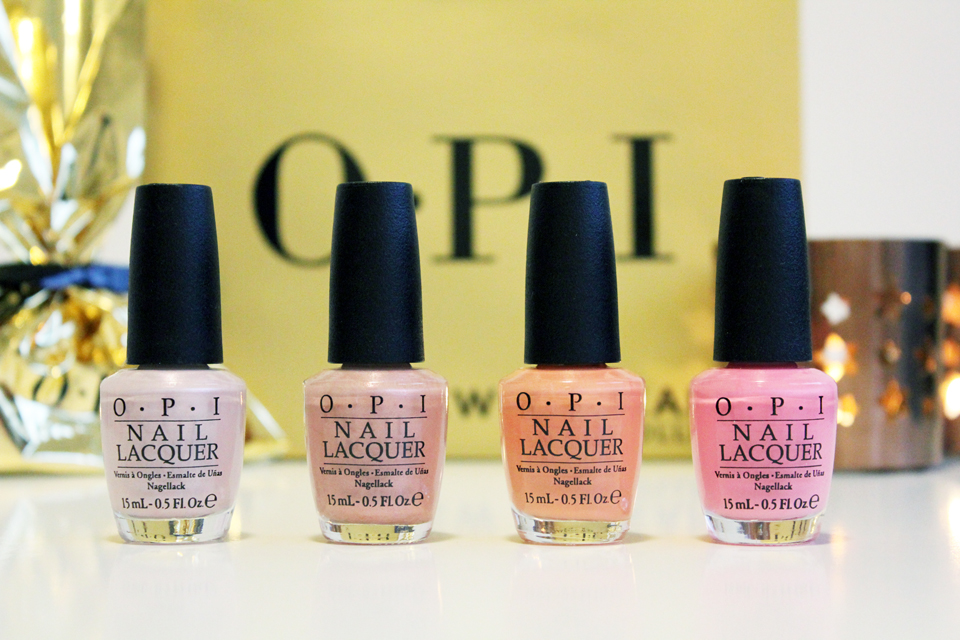 OPI Let Me Bayou a Drink, Humidi-Tea, Got Myself into a Jam-balaya, Suzi Nails New Orleans