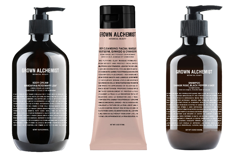 Grown Alchemist products