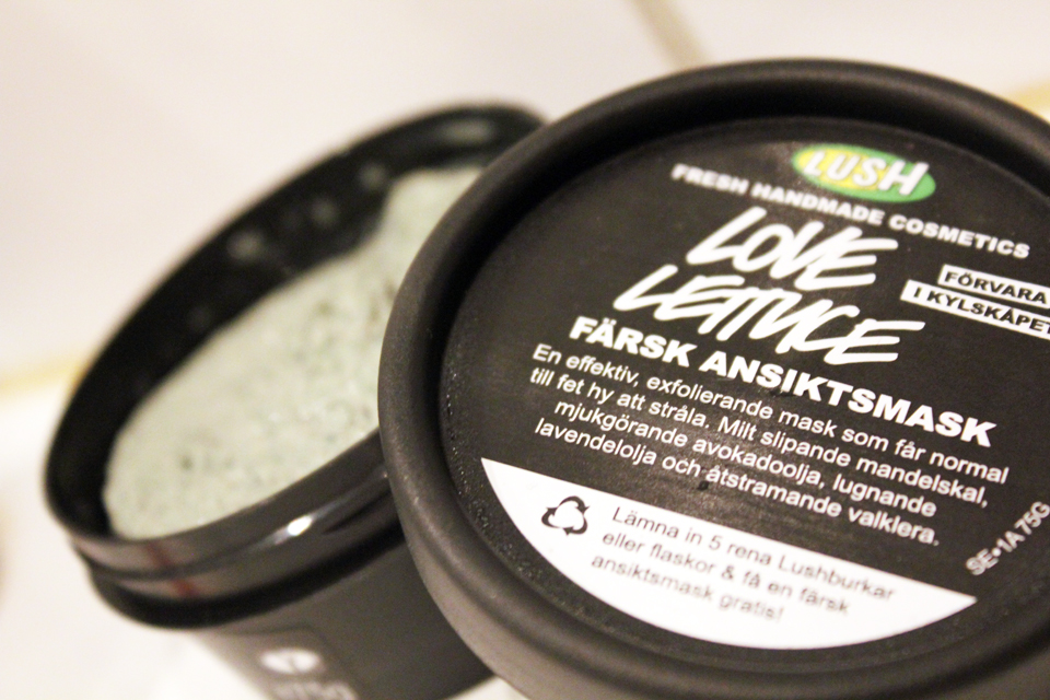 Lush Love Lettuce Facial Mask