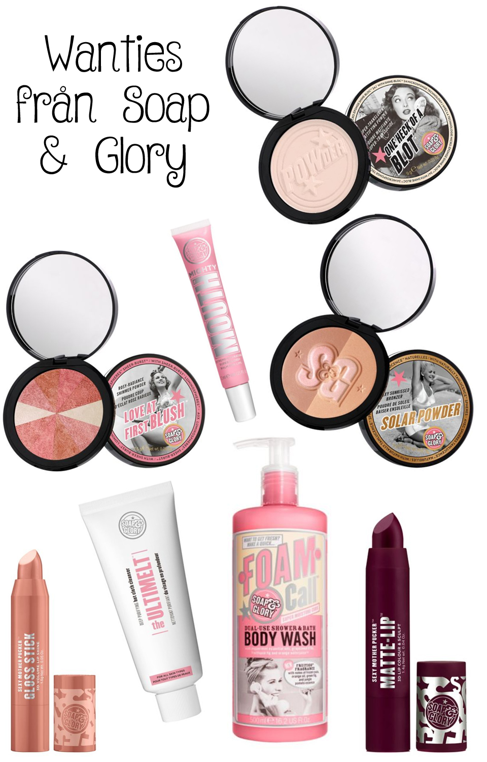 Wishlist Soap and Glory