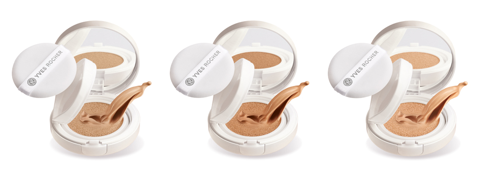 Yves Rocher Light Foundation Cushion 200