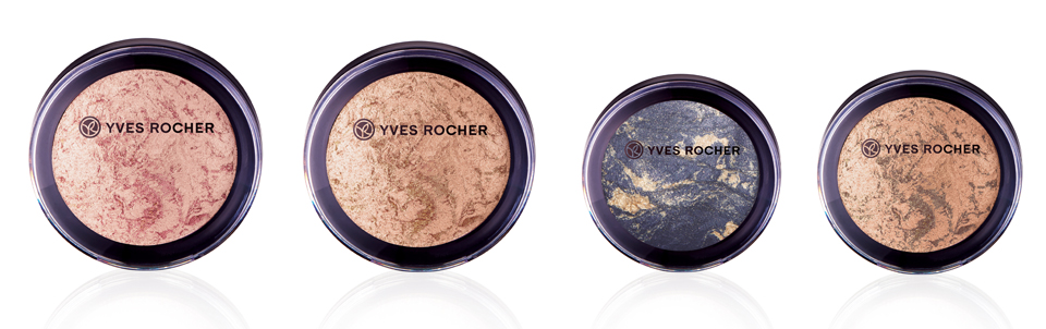 Yves Rocher Marbled Illuminating Powder & Eyeshadow
