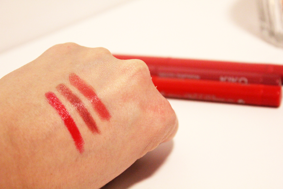 Kiko Smooth Temptation Swatches