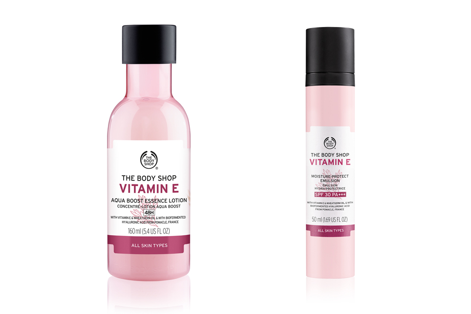 The Body Shop Vitamin E news