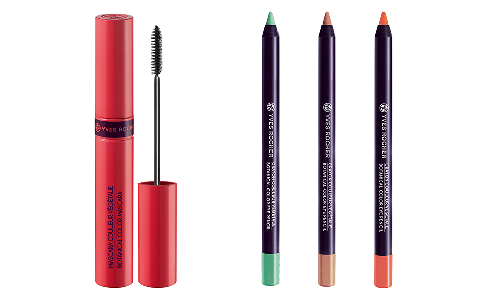 Yves Rocher Botanical Color Mascara and Eye Pencil