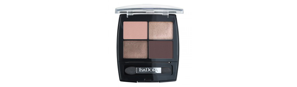 Isadora Eye shadow quartet nude sand