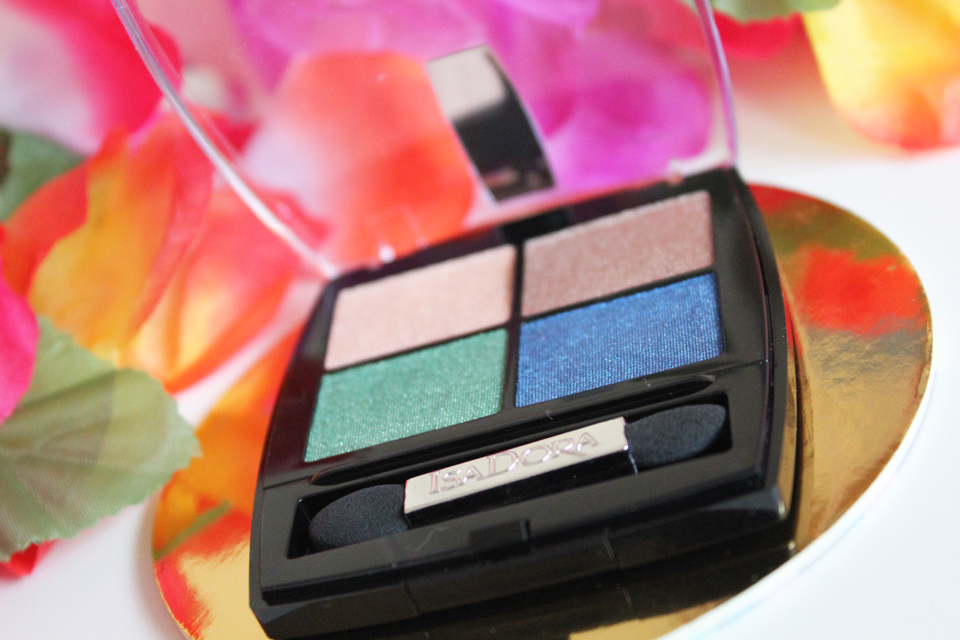 IsaDora Tropical Paradise Eye Shadow Quartet