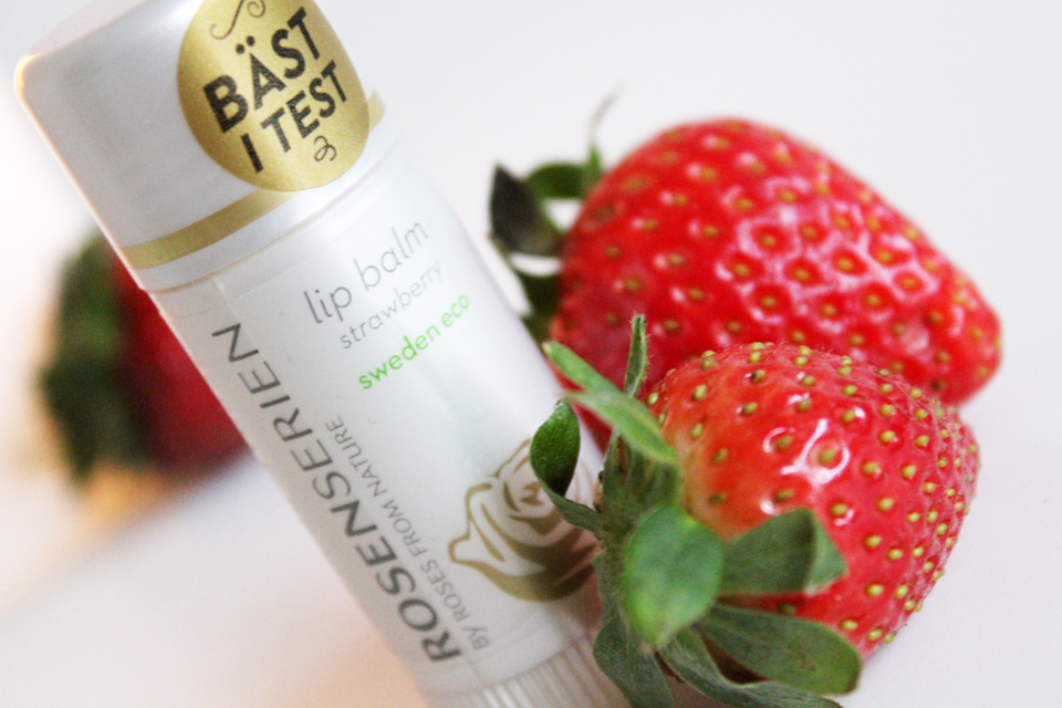 Rosenserien Lip Balm Strawberry