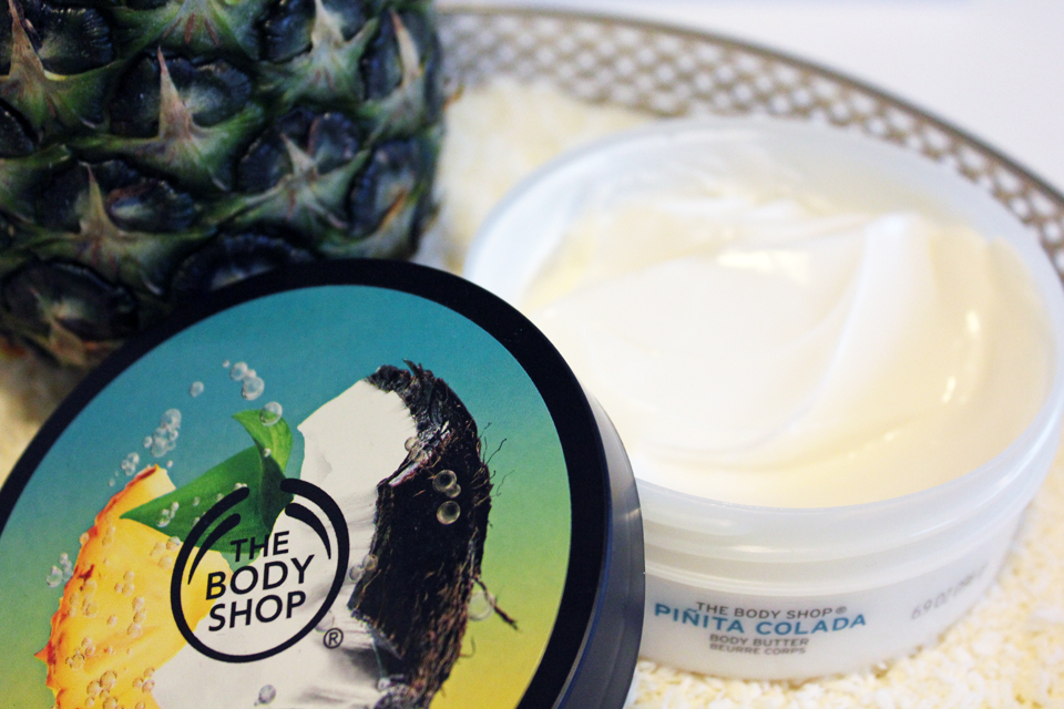 The Body Shop Pinita Colada Body Bytter Open