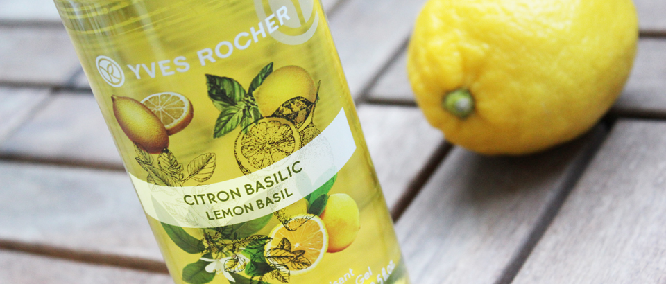 Lemon Basil Energizing Bath & Shower Gel
