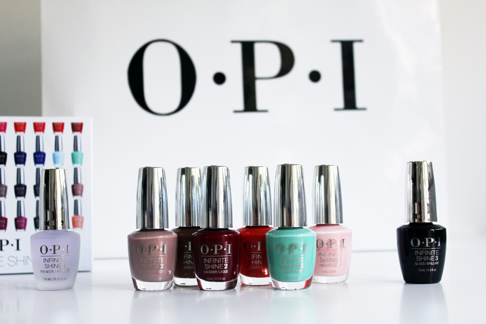 OPI Infinite Shine Collection