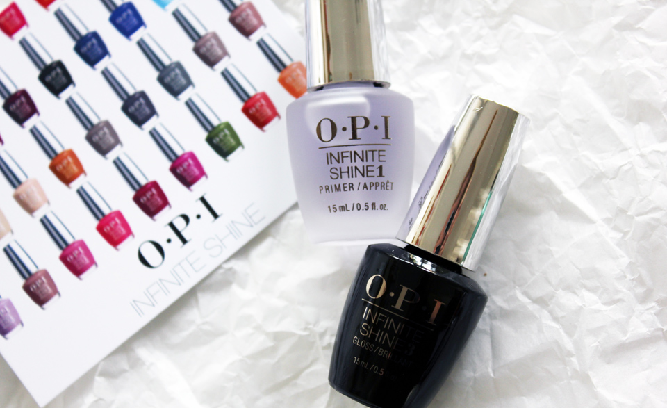 OPI Infinite Shine Primer and Gloss
