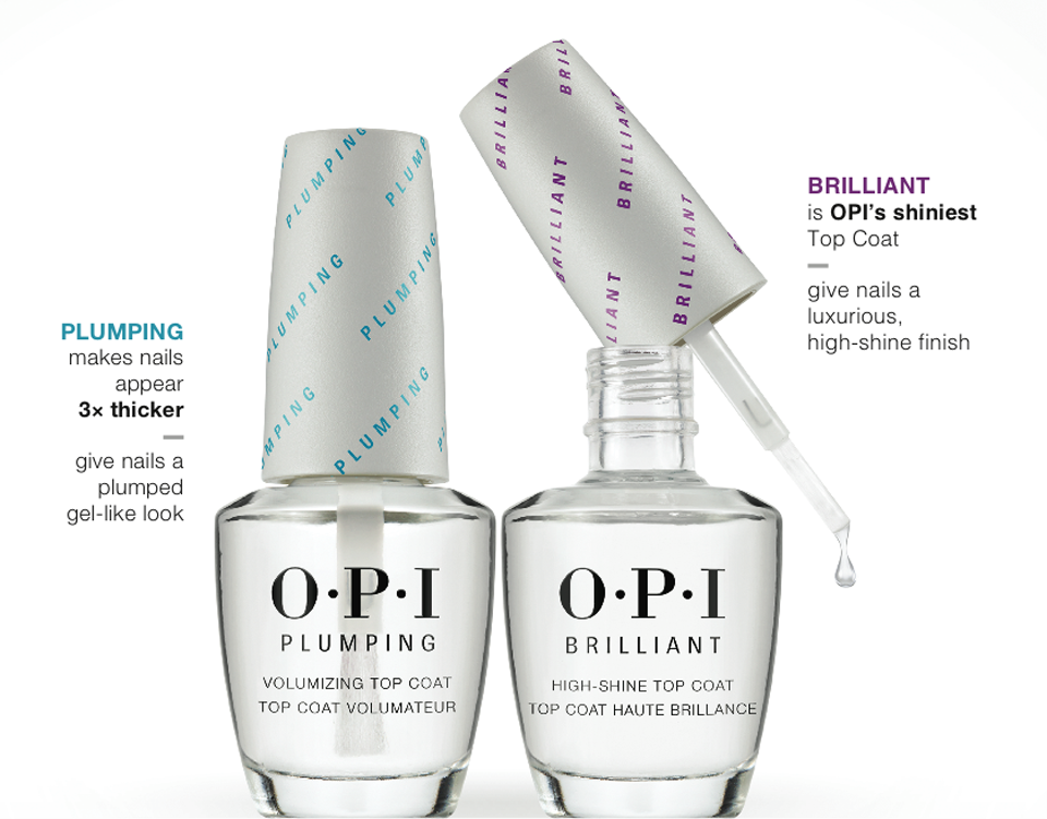 OPI Plumping and Brilliant
