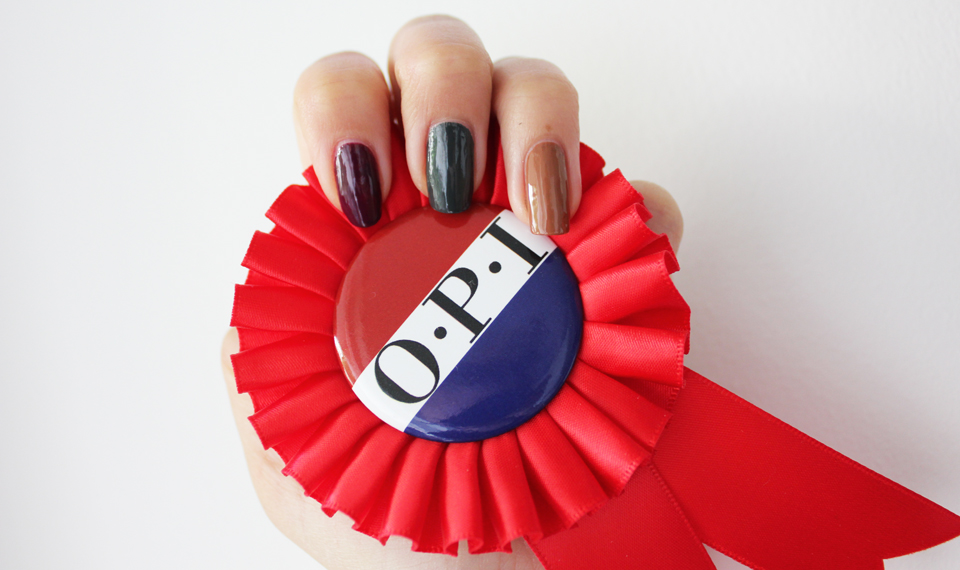 OPI Washington DC Limited Edition swatches