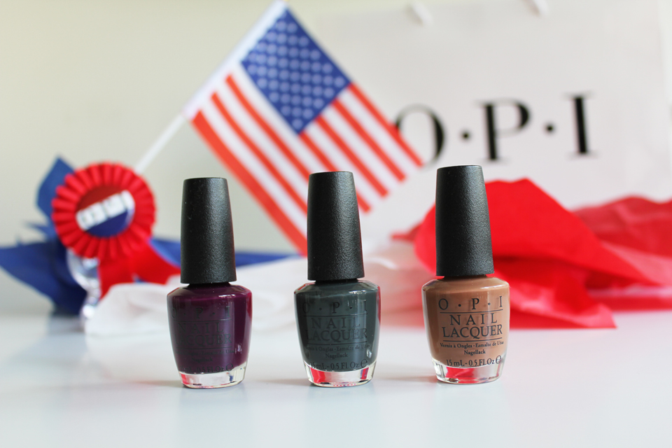 OPI Washington DC Limited Edition