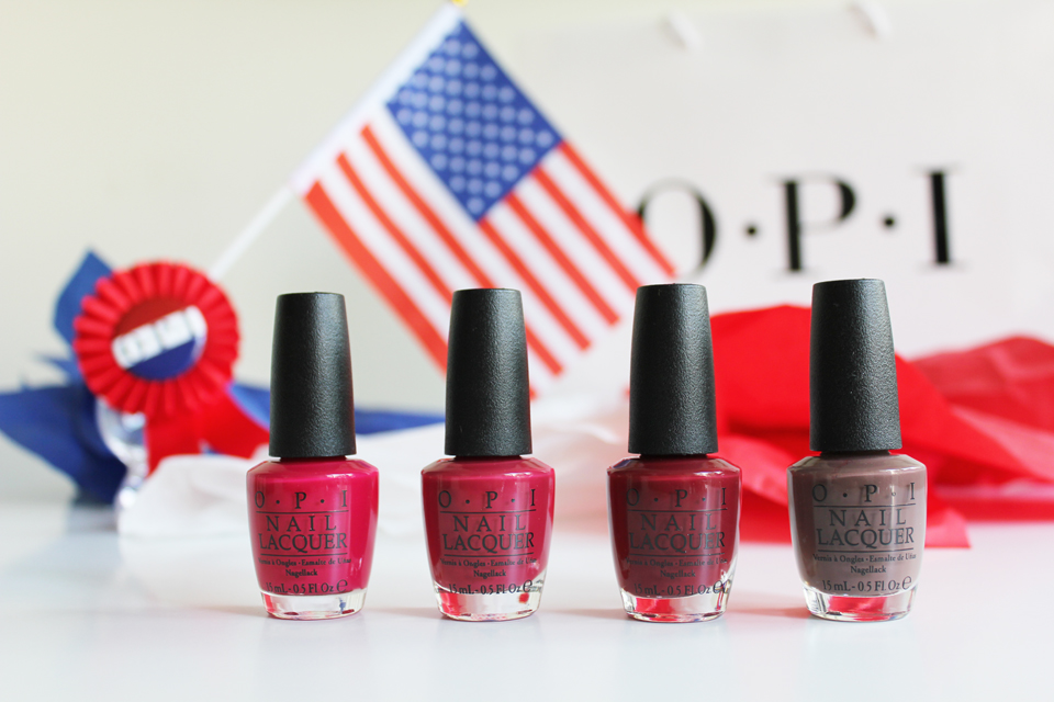 OPI Washington DC red