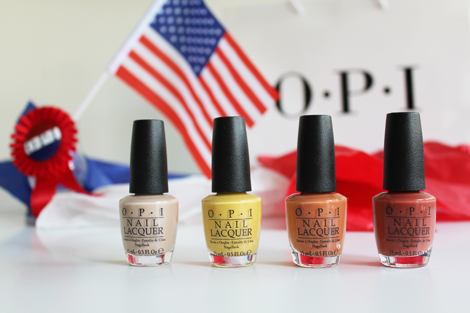 OPI Washington DC yellow-orange