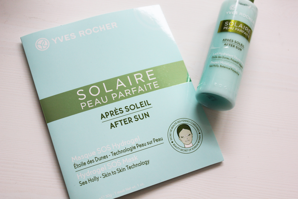 Yves Rocher After Sun Hydrogel SOS Mask