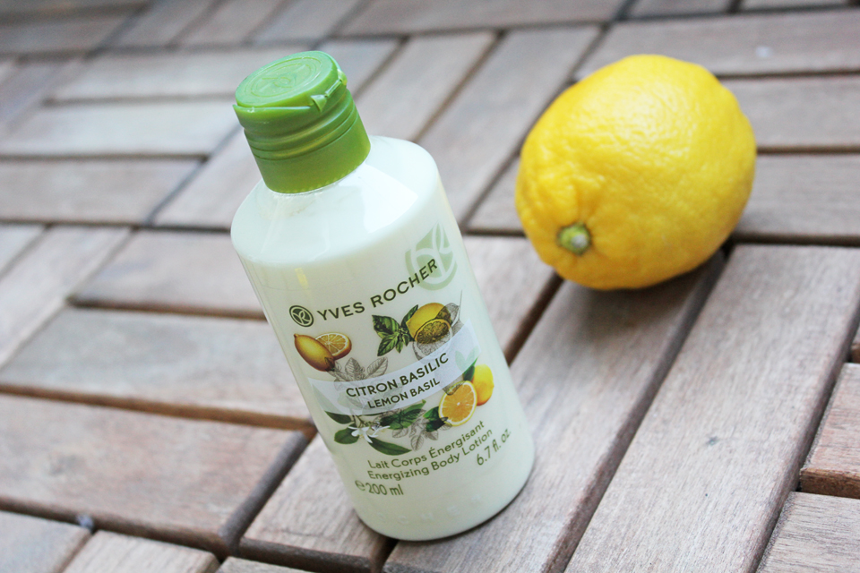 Yves Rocher Lemon Basil Energizing Body Lotion
