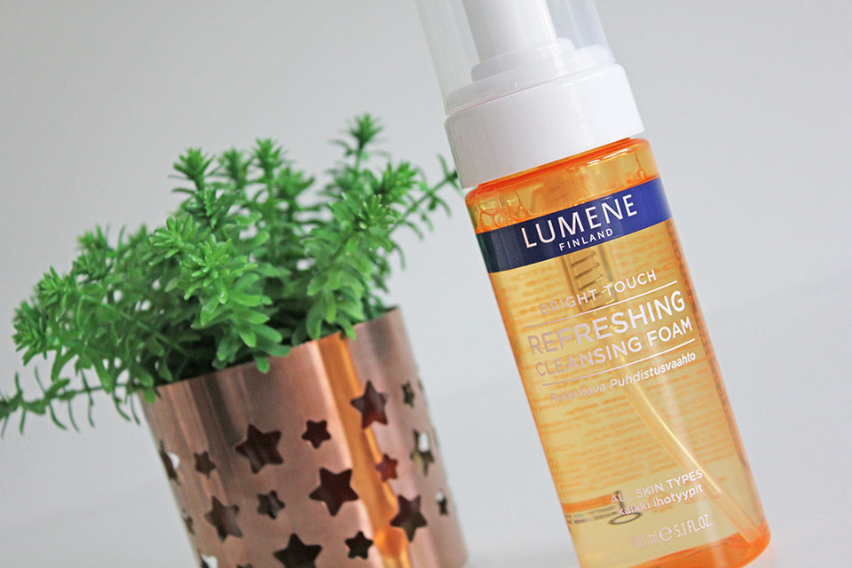 Lumene Bright Touch Refresing Cleansing Foam