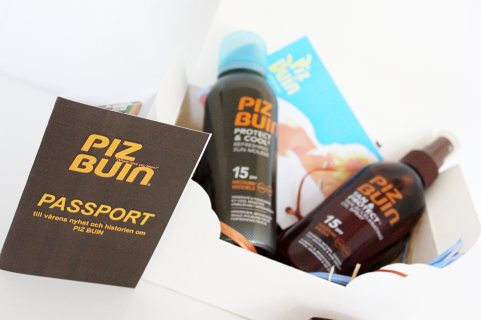 Piz Buin Protect & Cool Refreshing Sun Mousse