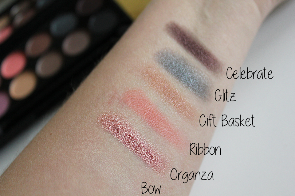Sleek Oh So Special Top Swatches