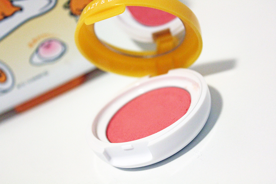 Holika Holika Gudetama Jelly Dough Blusher CR01 Grapefruit Jelly