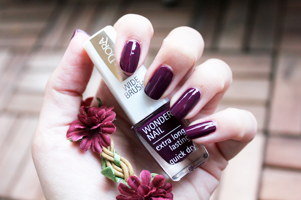 IsaDora Wonder Nail 540 Purple Paisley