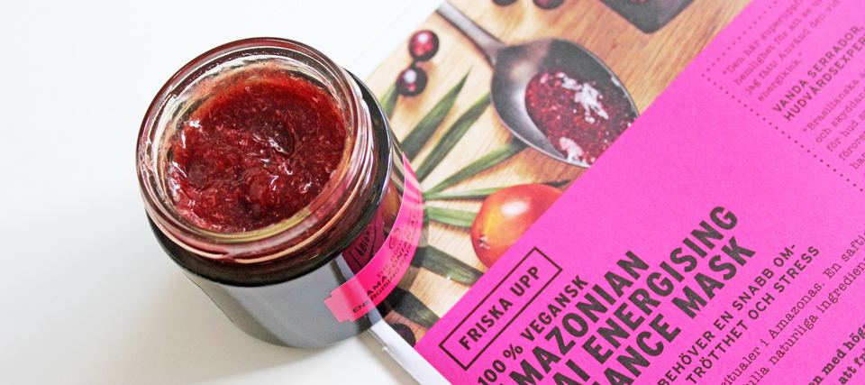 The Body Shop Amazonian Acai Face Mask