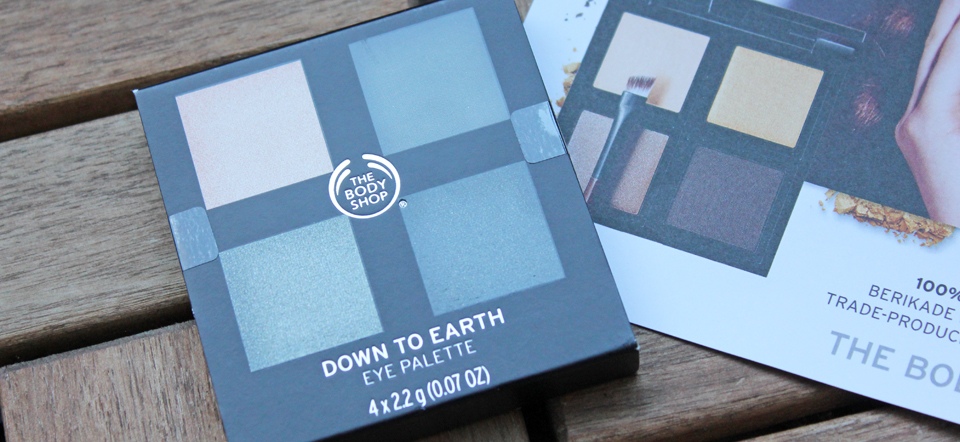 The Body Shop Down To Earth 4 Shade Eye Shadow Palette