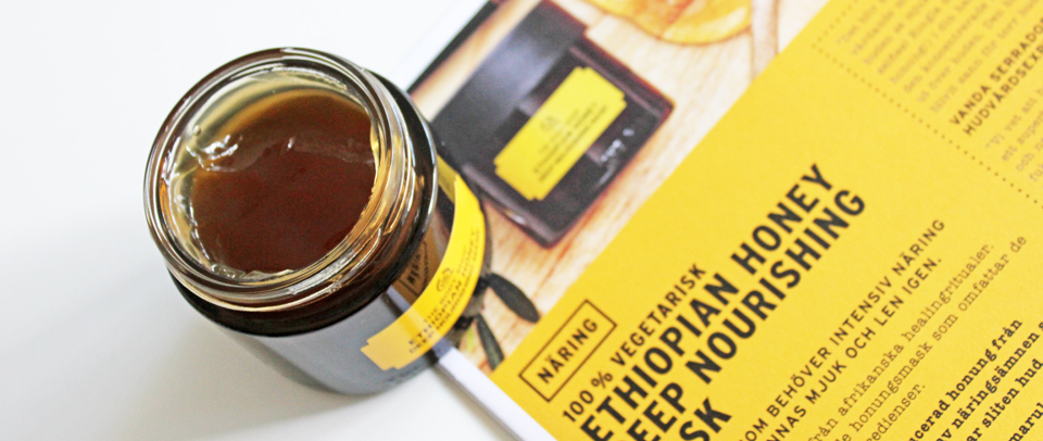 The Body Shop Ethiopian Honey Face Mask