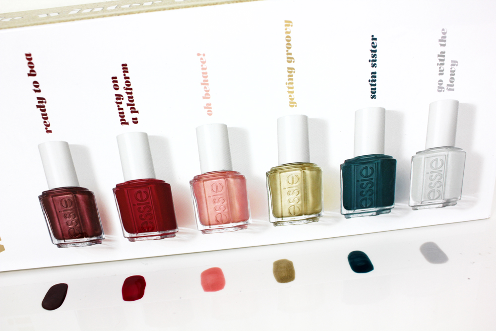 Essie Winter Collection 2016 swatches