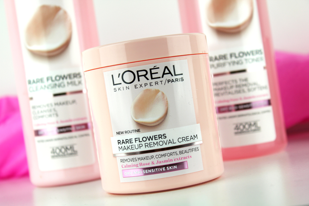 L´Oreal Rare Flowers Makeup Removal Cream