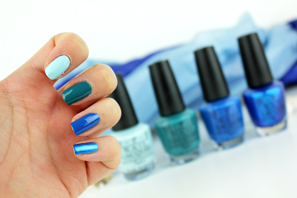 OPI Fiji Blues Swatches