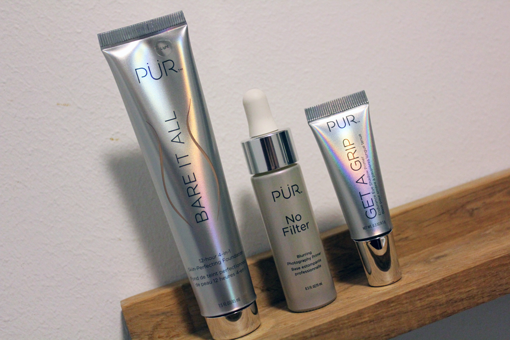Pur Cosmetics Bare It All, No Filter Blurring Photography Primer and Get A Grip Eye Shadow Primer