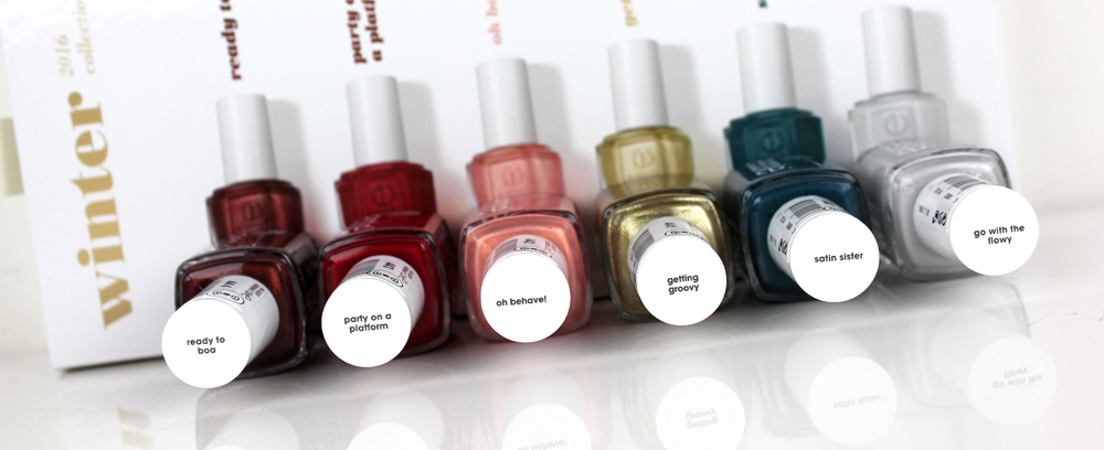 Winter Collection Nail Polishes
