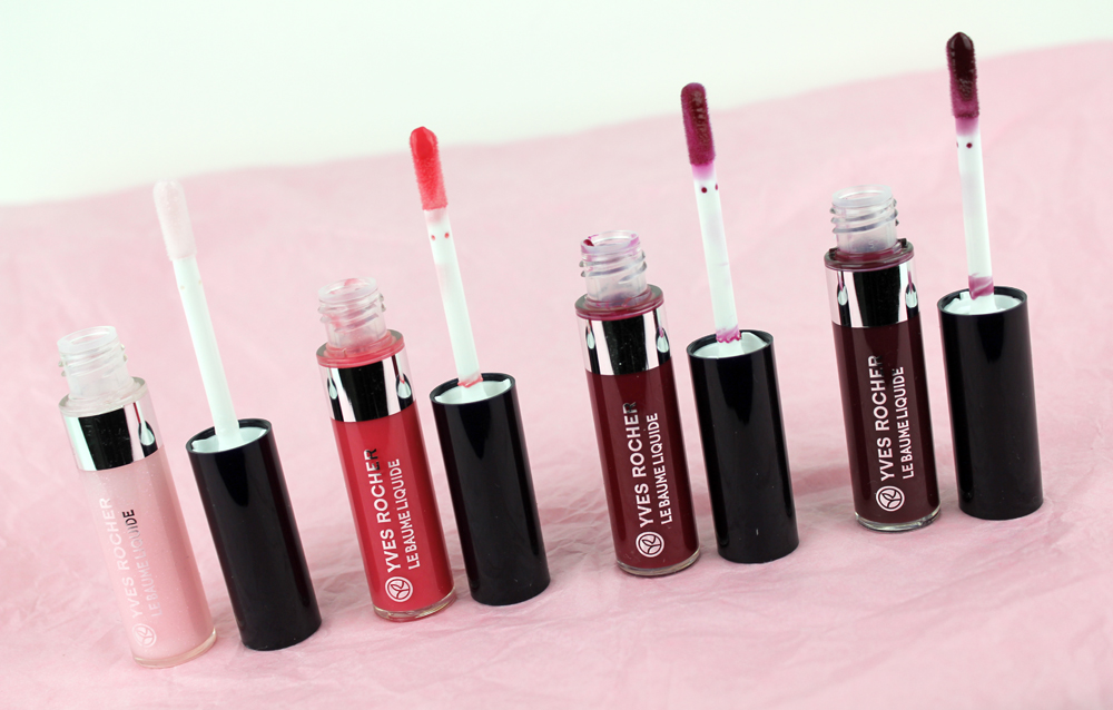 Yves Rocher Lip Glosses