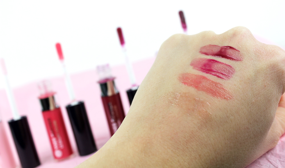 Yves Rocher Rouge Vertige Liquid Balm Swatches