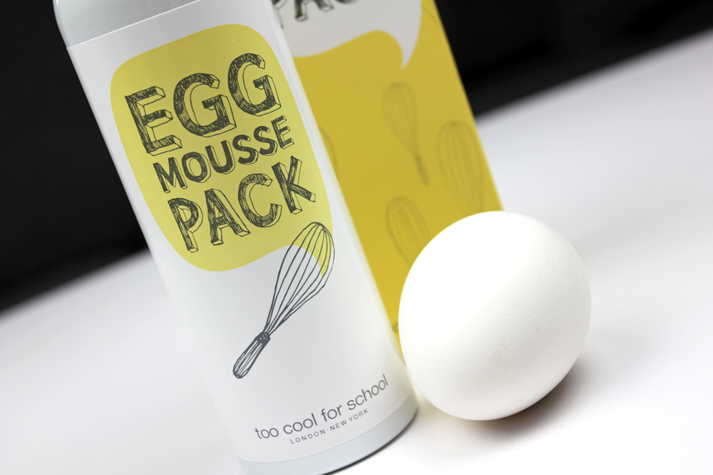 Egg Mousse Pack