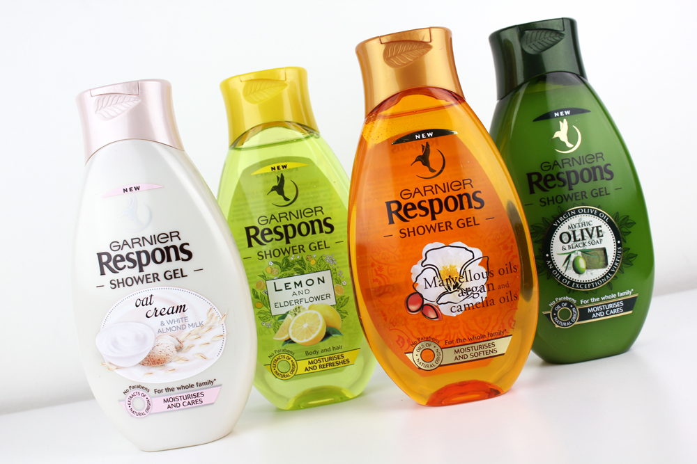 Garnier Respons Shower Gel